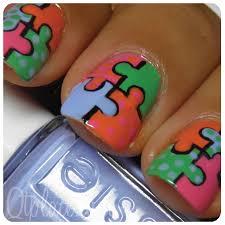 nail art puzzle tutorial images