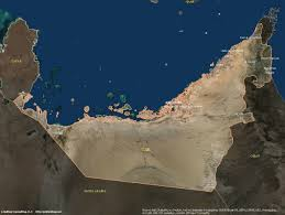 United Arab Emirates Map United Arab Emirates Satellite Maps Leaddog Consulting