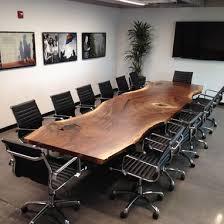 Black Boardroom Table Custom Made Custom Live Edge Black Walnut Conference Table 10 500