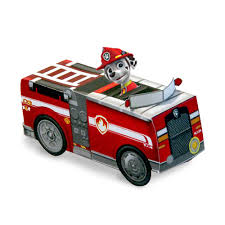 marshall paw patrol truck marshall paper vehicle toy