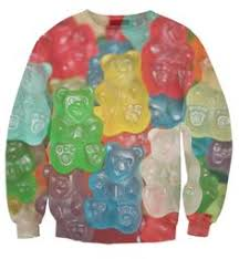 gummy clothes gummy bears crop top by beloved shirts crop tops