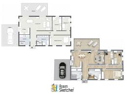3d floor plan services need floor plans quick with roomsketcher you can order 2d 3d
