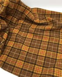 ranger plaid felted wool fabric for rug hooking wool applique