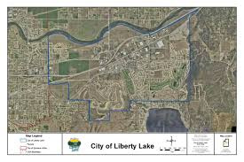 Map Of Spokane Washington City Maps Liberty Lake Wa Official Website