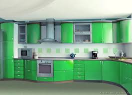 Modern Green Kitchen Cabinets Kitchen Of The Day Modern Monday Going Green St S Day