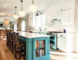 kitchen with black island and white cabinets blue kitchen cabinets blue kitchen cabinet ideas