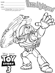story coloring pages buzz lightyear preparing to throw