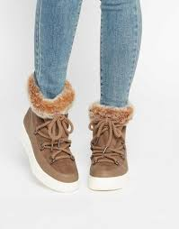 womens fur boots canada shoes asos auto drive faux fur ankle boots canada
