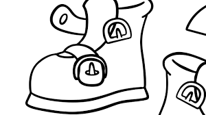 buckle shoe coloring mother goose club