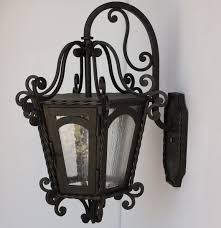 Arte De Mexico Light Fixtures by 7030 1 Spanish Revival Wrought Iron Lantern Lighting Wrought
