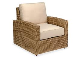 santa barbara aluminum woven resin wicker club chair chair king