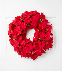 blooming 24 poinsettia wreath joann
