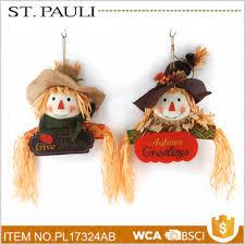 harvest festival lovely scarecrow ornaments thanksgiving souvenir