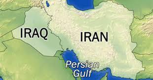 map iran iraq iran crosses iraq border to strike bomb suspects cbs news