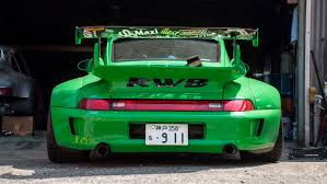 rauh welt porsche green rwb shop tour hd youtube