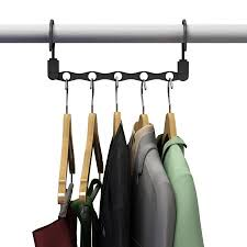 space saving closet organization vertical and horizontal multi