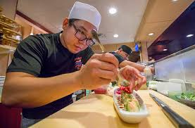 japanese restaurant cook at table yamato japanese restaurant coast monthly table surfing