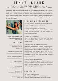 Example Of Resume For Teacher by New Yoga Teacher Resume Sample Yoga Teacher Resources