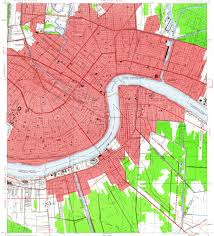 Map Of New Orleans Area by Download Topographic Map In Area Of New Orleans Marrero