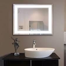 97 best illuminated back lit led rectangle vanity bathroom mirror