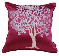 tree embroidered pillows for gray throw pillows for sale