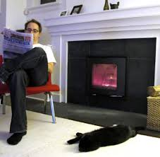 how a fireplace insert cut my heating bill by 40 per cent