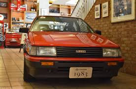 toyota car garage toyota history garage toyota corolla levin 2 ran when parked