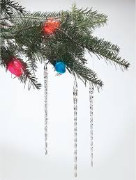glass icicle ornaments for trees real