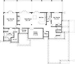 cottage house plan with 3 bedrooms and 2 5 baths plan 5215