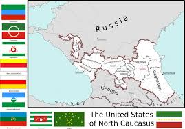 Map Of The United States Images by Map Of The United States Of North Caucasus By Coliop Kolchovo On