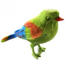 2017 chirping singing bird toys plastic sound voice