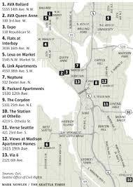 Map Ballard Seattle by Discrimination Alleged At 13 Seattle Rental Properties The