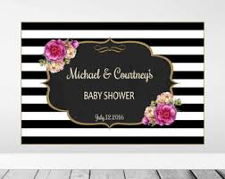michael baby shower decorations baby shower backdrop shower backdrop baby shower decor and