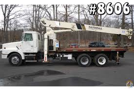 volvo trucks for sale 8606 1998 volvo wg64 national crane 600c 17 ton boom truck