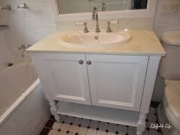 lilyfield life painting a bathroom vanity