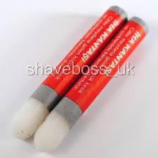 alum pen alum pen pencil stick x 2 iha styptic astringent blood stop after