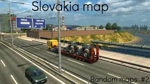 Slovakia Map Euro Truck Simulator 2 Random Maps 2