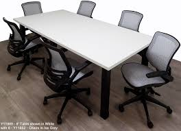 Conference Room Desk Conference Tables W Black Legs U0026 Mocha Maple White Black Or