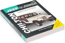 chilton 40202 chi repair manual for 71 86 jeep cj5 cj6 cj7