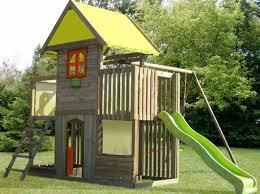 maisonnette de jardin enfant maison jardin enfant toboggan l univers du bébé