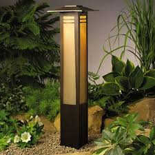Kichler Outdoor Lighting Kichler Lighting Kichler Zen Garden Column Path Light