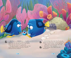 Finding Nemo Story Book For Children Read Aloud Disney Pixar Finding Dory Theater Storybook Projector