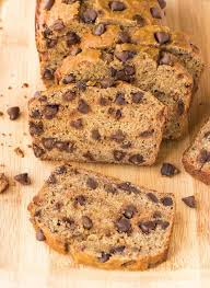 healthy banana bread recipe with chocolate chips