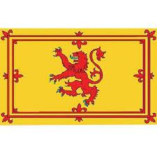 Lion Flag Scottish Lion Flag