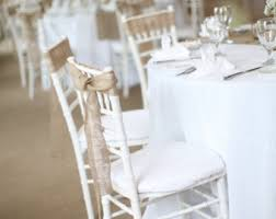wedding chair bows burlap wedding chair sashes wedding burlap chair bow sash 7 inch 3