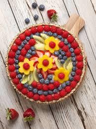 berry flower vegan tart dessert recipe
