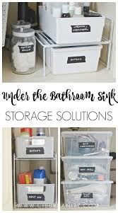 the bathroom sink storage ideas sink organizer bathroom home design