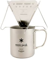 snow peak collapsible pour over coffee