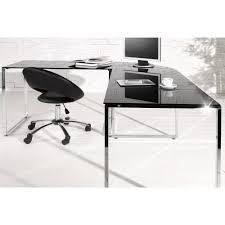 bureau angle verre noir bureau d angle noir 50 images bureau d 39 angle design quot