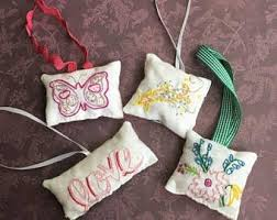 embroidered ornament etsy